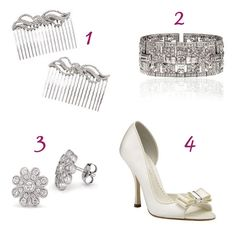 Love the shape and style of the shoe. Would prefer a flower/rhinestone accent at the toe instead of the bow