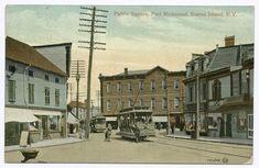 Old Staten Island Photos - Old Staten Island Port Richmond Square