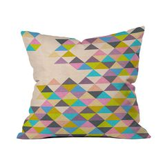 Found it at AllModern - Bianca Green Completely Incomplete Throw Pillow