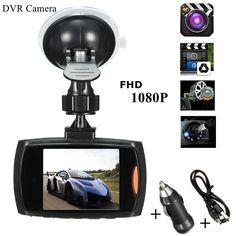 2.7 Cal Full HD 1080 P Samochód DVR Kamera Dash Cam Auto Video Recorder 170 Stopni G-sensor Noc wizja