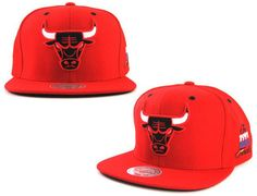 Chicago Bulls 1991 NBA Finals Snapback Caps by MITCHELL & NESS