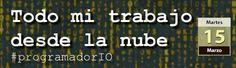 Mañana no te pierdas Todo mi trabajo desde la nube #programadorIO: http://www.desarrolloweb.com/en-directo/trabajo-nube-programadorio-8959.html