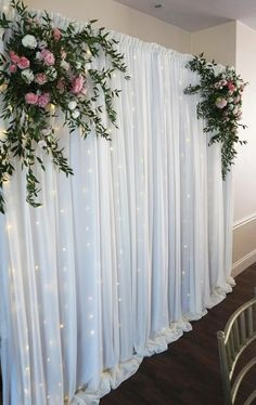 Diy Engagement Decorations, Wedding Stage Decorations, Backdrop Decorations, Wedding Backdrop Design, Desi Wedding Decor, Wedding Table, Decoration Evenementielle, Deco Floral, Wedding Background