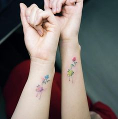 Show Your Love With Matching Tattoos