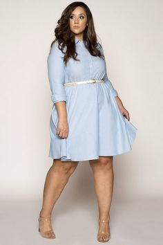 9f1ca14a2e9 PLUS SIZE GOOD DAYS BLUE MINI DRESS  34.99  fashion  ootd  outfits  women