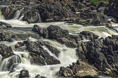 Great Falls National Park Close Up by Bill Boehm on 500px