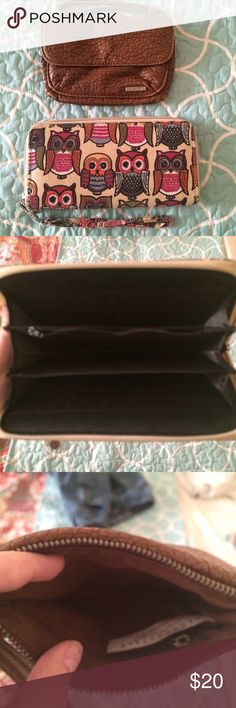 2 Cute Wallets/Wristlets Great condition! You'll receive both of these. Bags Clutches & Wristlets