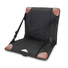 The Heated Stadium Seat: Warms to 115º F -- oh man I need this for those cold rodeo nights! Lol.