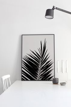 'Palm Leaf' print by Coco Lapine - cocolapine.bigcartel.com