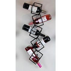 5 Bottle Hanging Wine Rack at Bed Bath & Beyond