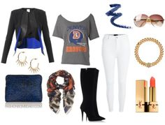 Winter 2014 Style Inspiration: What to Wear to a Superbowl Party - The Fashion Bomb Blog : Celebrity Fashion, Fashion News, What To Wear, Ru...