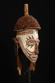 Tago mask collected in Huon Gulf of German New Guinea | 19th to 20th century
