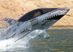 Wow!!! This is too awesome - you gotta check out the demo video!!Shark Sea Breacher