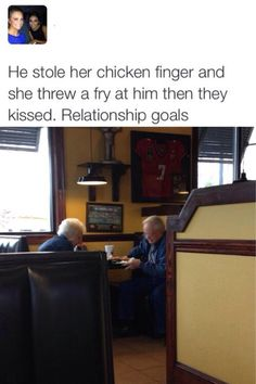 This is so adorable but just saying don't take my food I won't throw my fries I'll spray water haha