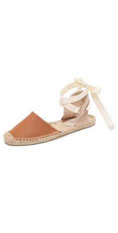 Soludos Leather Espadrille Sandals | SHOPBOP