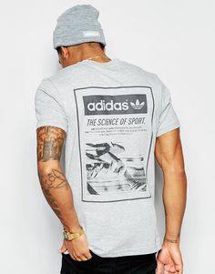 Image 1 of adidas Originals T-Shirt With Back Print AJ7162