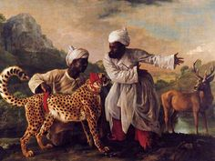 How Google Glass Augmented Reality Project could change the way we view art. George Stubbs's 'Cheetah and Stag with Two Indians',1765 Manchester Art Gallery, is test pilot. The wearer uses the spectacles to take a picture of the painting, recognized by Google Glass, which provides them with the artwork information found on the wall. Audio info about Stubbs, the 17th century English artist is also available for the wearer to select.