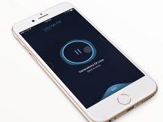 LOUNGE FM App Navigation