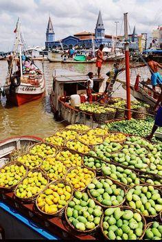 Mercado Ver-o Peso, Belém do Pará - BRASIL