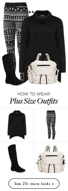 """""""Knit"""" by cnh92 on Polyvore featuring Samoon, Alexander Wang and Kendra Scott"""