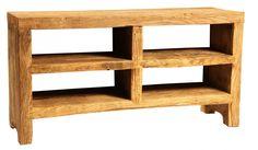Upstairs Downstairs Furniture - Fenwick Plasma Stand, Width: 58.00 Height: 30.00 Depth: 18.00