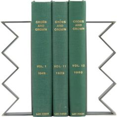 Brass knuckles bookends