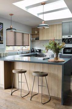 House Beautiful Magazine Kitchen Interiors 15 New Ideas Home Decor Kitchen, Interior Design Kitchen, Kitchen Furniture, New Kitchen, Furniture Design, Kitchen Splashback Tiles, Kitchen Flooring, Kitchen Layout, Cool Kitchens