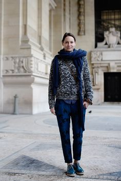 (via On the Street….Grand Palais, Paris «The Sartorialist)