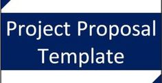 Free Download Project Proposal Template