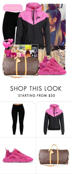 """"" by brandylovebrandy ❤ liked on Polyvore featuring NIKE and Louis Vuitton"