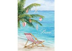 Send your warmest wishes with Brighten the Season holiday greeting cards. Cover design features a tropical beach scene. Message: Wishing you the quiet beauty of a peaceful holiday season. Contains 16 cards and 16 envelopes.