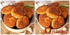 Výborný tip na obed – syrové fašírky z dvoch druhou syra, ktoré užasne rozvoniavajú už vtedy, keď ich pripravujete na panvici