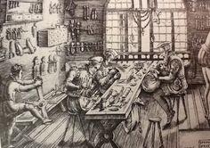 Medieval jewelry studio
