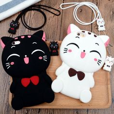 Color:black.white. Fit Laptop Model: iphone 5/5s. iphone 6/6s. iphone 6/6s plus. iphone 7. iphone 7plus. Fabric material:silicone. Tips: *Please double check above size and consider your measurements