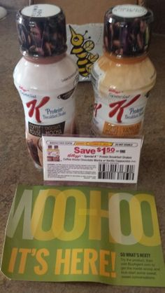Special K Coffee House Breakfast Shakes.   Bzz agent and this is my campaign #GotItFree Coffee house Breakfast shakes