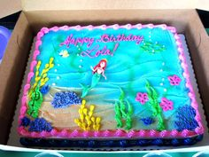 Little Mermaid Birthday Party Ideas | Photo 2 of 15 | Catch My Party