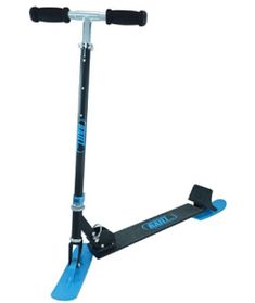Railz Original Snow Sled Ski Scooter for All Ages. Designed & Patented in The USA. Best Scooter, Kick Scooter, Snow Sled, Gifts For Teens, Folded Up, Winter Snow, Scooters, Outdoor Power Equipment, Baby Gifts