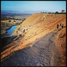 The view to the East at the Bluffs  Bakersfield, California