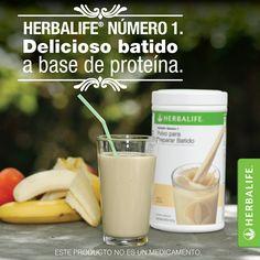 Con pocas calorías y una fuente adicional de proteínas y minerales. Tu batido Herbalife está formulado para contribuir a que logres una mejor nutrición. #AmoMiBatido