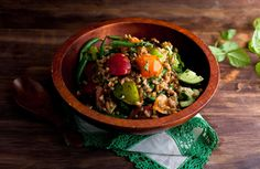Farro Salad With Tomatoes and Romano Beans Recipe - NYT Cooking