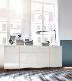 Glnzende Ergnzung Fr Ihr Wohnzimmer Dank Sideboard In Modernem Look