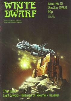 rpgcovers:  White Dwarf magazine #10  Games Workshop (December 1978/January 1979)