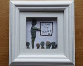 SOLD Pebble Art: Teacher's favour