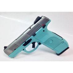 Tiffany Blue Ruger SR9C 9mm SS