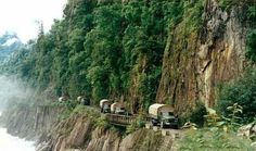 Woah... These Roads Are Deadly. See Our 10 Most Dangerous Roads In The World Here!