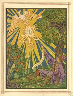 The Firebird -- Ivan Bilibin -- Russian Fairytale