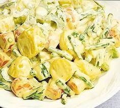 Warm Russian salad. Give vegetables a Russian twist