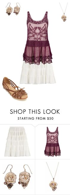 """""""Courtney's Outfit for Audrianna's Baby Shower"""" by thesassystewart on Polyvore featuring Rochas and Miss Selfridge"""