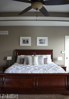 cherry wood bedroom furniture decor - Google Search | Moms bedroom ...
