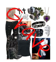 """""""Grave"""" by bandlover11132 ❤ liked on Polyvore featuring Abercrombie & Fitch, Bling Jewelry, claire's, Home Decorators Collection and BandLover11132StoryOutfits"""